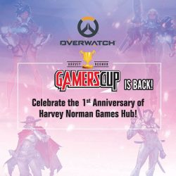 [Harvey Norman] Last days for you to sign up for the Overwatch Harvey Norman Gamers' Cup, with over $5,000 worth of