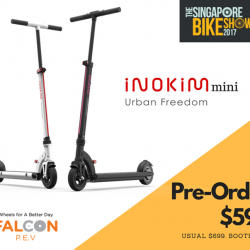 [Falcon PEV] You will want to check out the latest to the INOKIM family, the new INOKIM mini which we are taking