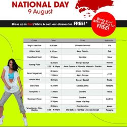 [Amore Fitness] Celebrate National Day with us!