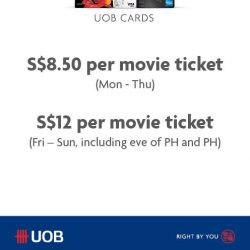 [Cathay Cineplexes] UOB card members, we've got a little something for you!