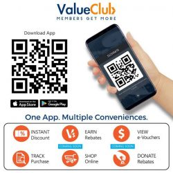 [CHALLENGER MINI] Never miss your rewards and rebates again - ValueClub App will track them all.