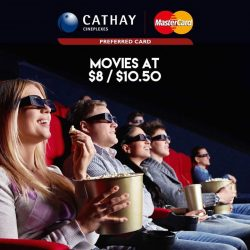 [Cathay Cineplexes] We've got marvellous news for Mastercard holders!