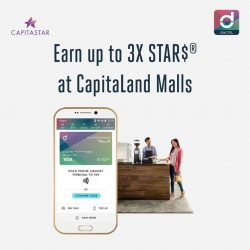 [Singtel] Earn up to 3X STAR$® at CapitaLand Malls when you shop and pay with Singtel Dash!