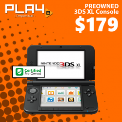 [GAME XTREME] Preowned 3DS XL Console【PROMO DURATION】 While Stocks Last!