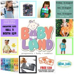 [Bumwear] We will be at Baby Land Exhibition this weekend at Singapore Expo.