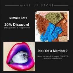 [MAKE UP STORE] EXCLUSIVE MEMBER OFFER.
