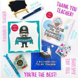 [The Paper Stone Signature] Your teacher is the best!