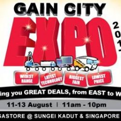 [Gain City] Featuring the widest selection of Air-conditioners, Home Appliances, Electronics and IT products, the Gain City Expo will be occurring