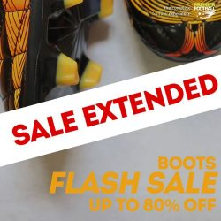 [Premier Football Singapore] Due to popular demand our Boots FLASH SALE has been extended to 9th August!