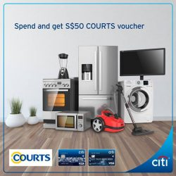 [Citibank ATM] Spruce up your house with new electronics and home appliances!
