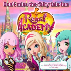 [Kidz Time] Mark your calendar to meet Rose Cinderella and Hawk SnowWhite from Regal Academy this 19 & 20 August (Saturday & Sunday) at
