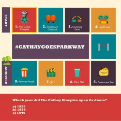 [Cathay Cineplexes] Celebrate with us as we countdown to the opening of Cathay Cineplexes' newest outlet with weekly contests to give away