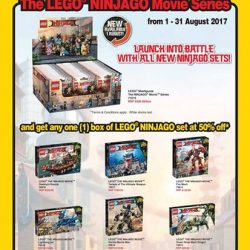 [The Brick Shop] Launch into battle with all new NINJAGO sets this August!