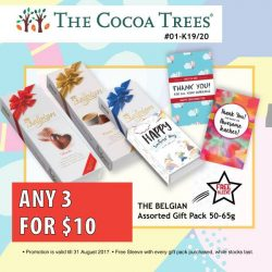 [VivoCity] Pamper your lovely teachers with sweet treats from The Cocoa Trees this Teachers' Day!