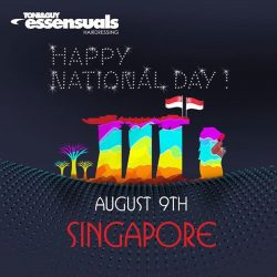 [Essensuals Hairdressing] Happy National Day!
