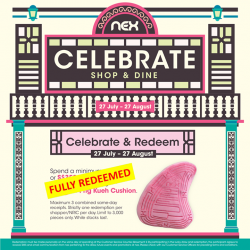 [NEX] Our Png Kueh cushions have been fully redeemed!