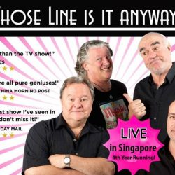 """[SISTIC Singapore] Tickets for """"Whose Line is it Anyway?"""