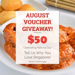 [Thai Village Restaurant] Dear friends, if you've yet to, remember to enter our August voucher giveaway!