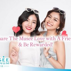 [Musee Platinum] We value your patronage here at Musee.