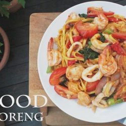[THE SEAFOOD MARKET PLACE BY SONG FISH] It's MEE GORENG!