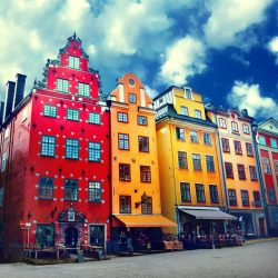 [Singapore Airlines] Stortorget is one of the most ideal locations to people-watch while sipping coffee in the heart of Stockholm's