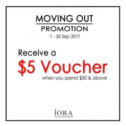 [IORA] Don't miss our promotion at our West Mall store!
