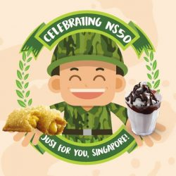 [McDonald's Singapore] At McDonald's, we're saluting all NS Men, past and present, for their service to the nation.