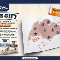 [Owl Café] Join us from today to 7th August at any of the participating supermarkets to try our OWL Everyday Favourites range!