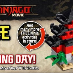 [Babies'R'Us] Exclusive LEGO Ninjago Make and Take Challenge!