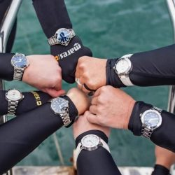 [ORIS] Oris ladies on a freediving excusion and to put to the test our latest Oris Aquis ladies collection.