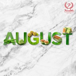 [PrimaDeli] August is certainly a special month for us!