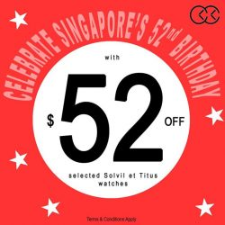 [City Chain Primo] Celebrate Singapore's big 52 with even BIGGER savings at City Chain Singapore!