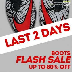 [Premier Football Singapore] 2nd last day today before our Boots FLASH SALE end.