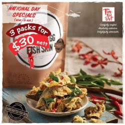 [Jack's Place] In celebration of our Nation's 52nd Birthday, Tiny Red Dot is having a promotion at our outlets!