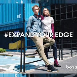 [Bossini Singapore] Bringing the Wardrobe Essentials to a new height, Bossini Singapore offers joggers in different Fall hues.