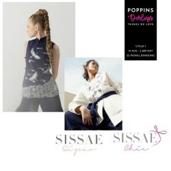 [Sissae] Sissae will be at Poppins Darlings - Cycle 1 - 14 August till 3 September 2017 23 Paskal Shopping Centre - Bandung The