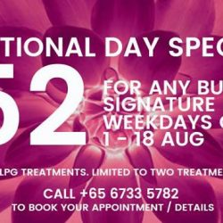 [Bud Cosmetics] We are celebrating Singapore's 52nd Birthday in a BIG way at Bud Cosmetics.