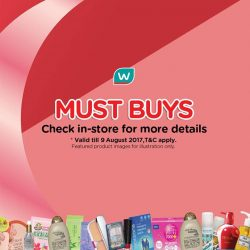 [Watsons Singapore] Enjoy 33% OFF ANY 3 PRODUCTS MIX AND MATCH deals on your favourite picks across participating brands like Garnier, Ocean