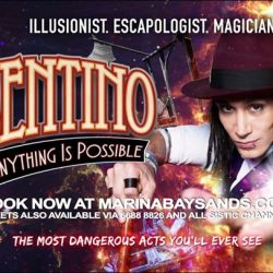 [Golden Village] Escape into Cosentino's world and witness his mind-boggling illusions, death-defying stunts and enchanting magic beginning 17 Aug