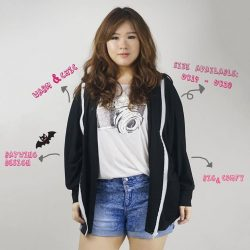 [LOVFLAUNT] This beautiful batwing cardigan will do the job of keeping you warm in that freezing workplace of yours!