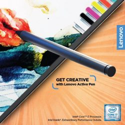 [Lenovo] Write, highlight, tap, paint and draw; there's so much more you can do with the Lenovo Active Pen.