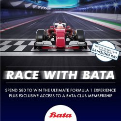 [Bata Shoe Singapore] Win Grandstand tickets with Bata this Formula 1 season!