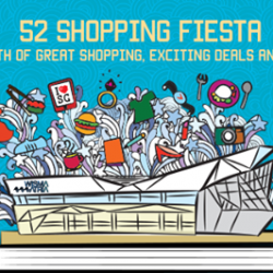 [Wisma Atria] Swing by Wisma Atria this August for exciting promotions and more as we celebrate our nation's 52nd birthday!
