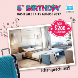 [Changi Recommends] Stand a chance to WIN a $200 staycation with any purchase of our 5th Birthday Bash Sale hottest deals: ChangiWiFi,