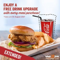 [Wing Zone Singapore] Good News!