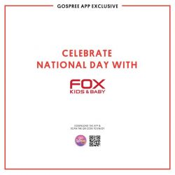 [Fox Fashion Singapore] There's $500,000 worth of eCoupons up for grabs on the GoSpree app this GSS, and FOX is one