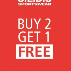[C.E.D.S Sportswear] Our new promotion just got better!