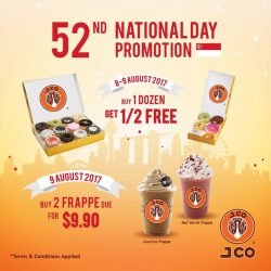 [J.Co Donuts & Coffee] We have some special treats for you this National Day so do drop by our stores if you are in