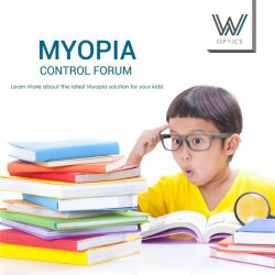 [W Optics] Want to know what is best for your little ones and the latest Myopia solution available in the market?