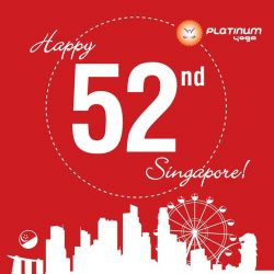 [Platinum Yoga] Happy 52nd Birthday Singapore!